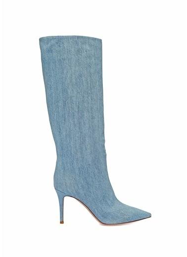 Gianvito Rossi Çizme Mavi